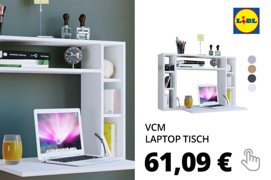 VCM Laptop Tisch »Wandila«, ausklappbarer Ablagetisch