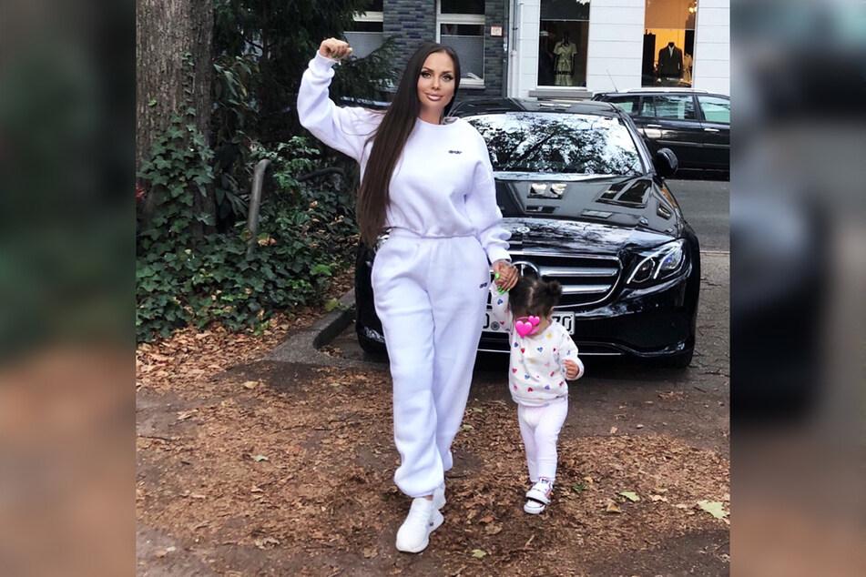 Schwesta Ewa (36) ist nun wieder mit ihrer einjährigen Tochter Aaliyah Jeyla vereint.