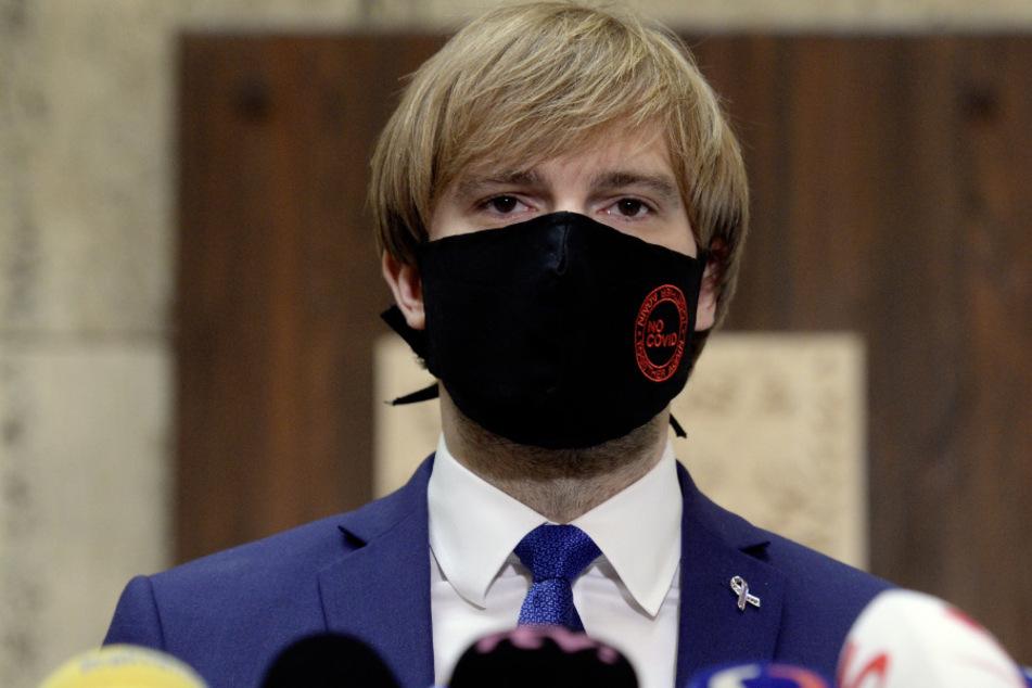 Gesundheitsminister Adam Vojtech (33). (Archivbild)
