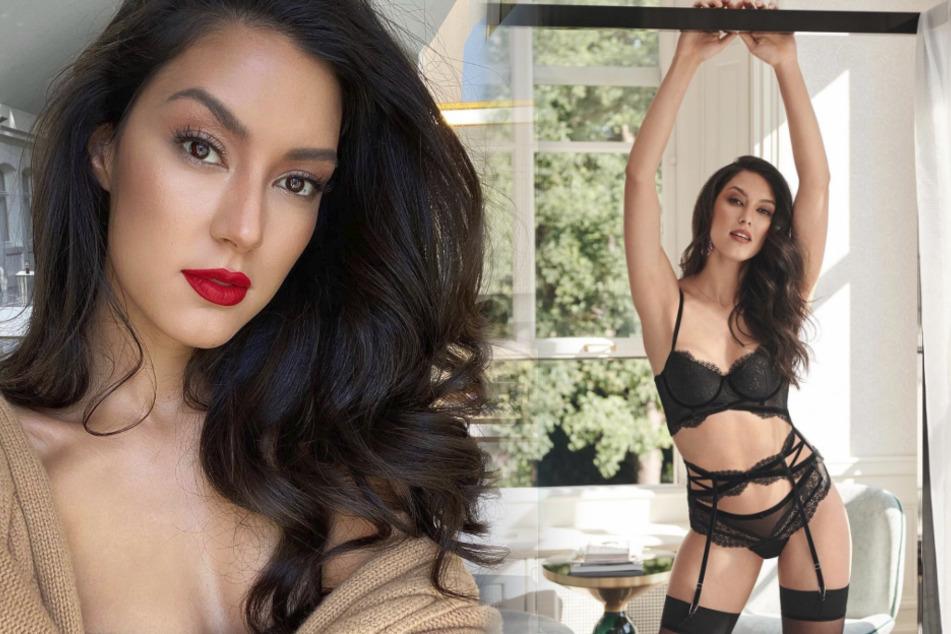 taff-Moderatorin Rebecca Mir posiert in sexy Dessous und erinnert an Model-Mama Heidi Klum