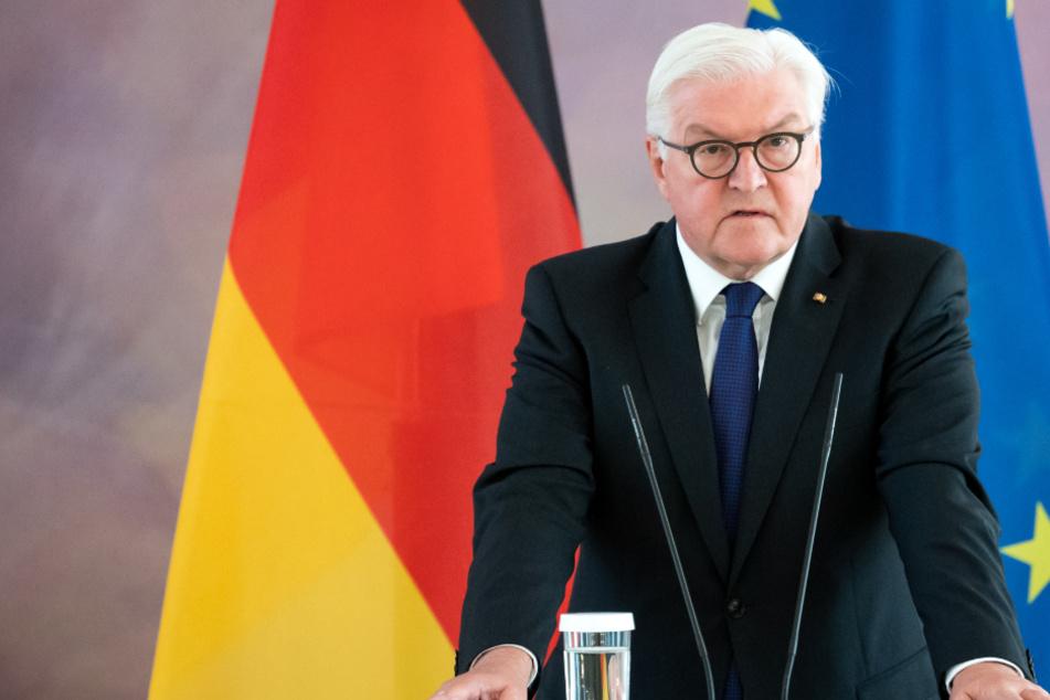 """Bundespräsident Frank-Walter Steinmeier mit Botschaft: """"Wegschauen ist nicht mehr erlaubt"""""""