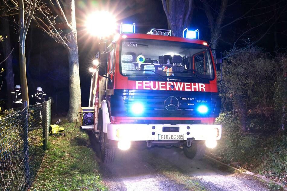 Insgesamt 57 Feuerwehrleute waren im Einsatz.