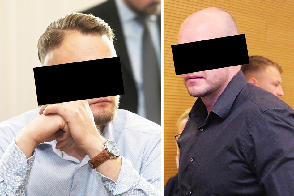 Christian L. (32) und Rene H. (35) müssen für jeweils mehr als drei Jahre in Haft gehen.