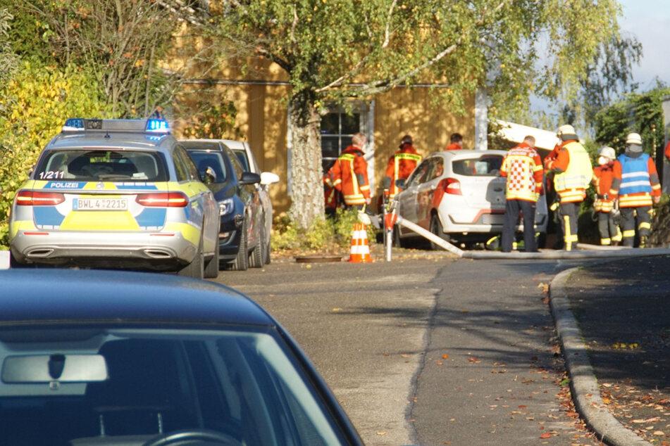 Feuer-Drama in Einfamilienhaus: Eine Frau stirbt