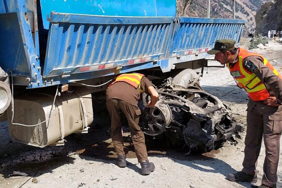 Wie genau es zu der Explosion kam, muss erst noch ermittelt werden. Aktuell gibt es widersprüchliche Behauptungen von China und Pakistan.