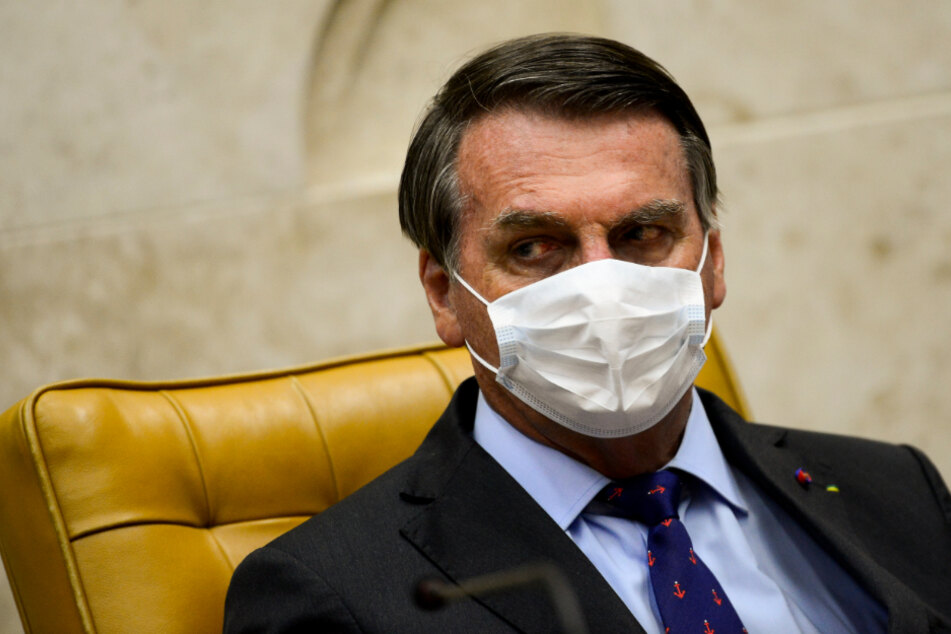 Brasilia: Jair Bolsonaro, president of Brazil, attends the inauguration of Minister Fux as the new president of the Brazilian supreme court (STF)