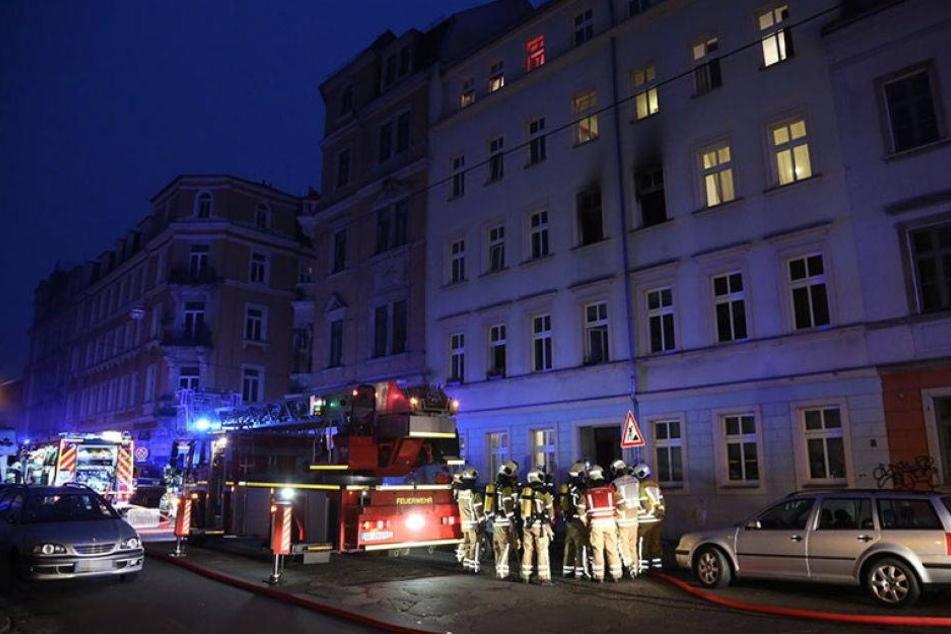 Wohnhausbrand in der Neustadt