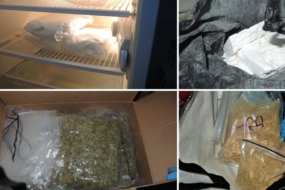 Größter Drogenfund in der Lausitz: Polizei stellt 80 Kilogramm Rauschgift sicher