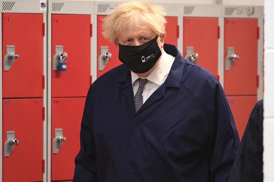 Der britische Premier Boris Johnson hat in seinem Land zunehmend Probleme mit der Delta-Mutante.
