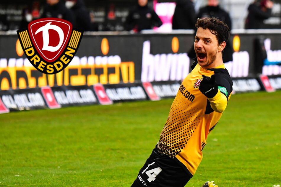 Dynamo-Torjäger Hosiner will beim 1. FCM nicht stolpern, sondern treffen!