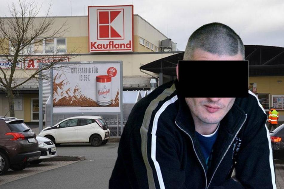 Supermarkt-Schreck von Zwickau droht der Knast