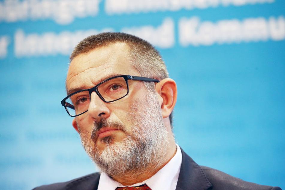 """Thüringens Verfassungsschutzpräsident Stephan Kramer (53) fordert ein Verbot der Palästinenserorganisation """"Volksfront zur Befreiung Palästinas"""" (PFLP)."""