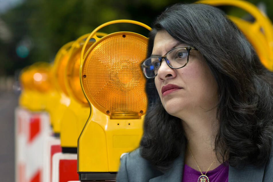 Michigan Rep. Rashida Tlaib speaks out after Detroit street buckles from suspected gas explosion