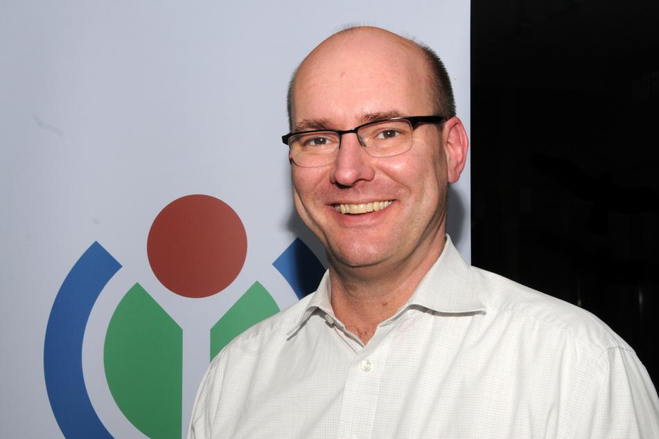 Pavel Richter (51) war Geschäftsführer der deutschen Wikipedia (Archivbild).