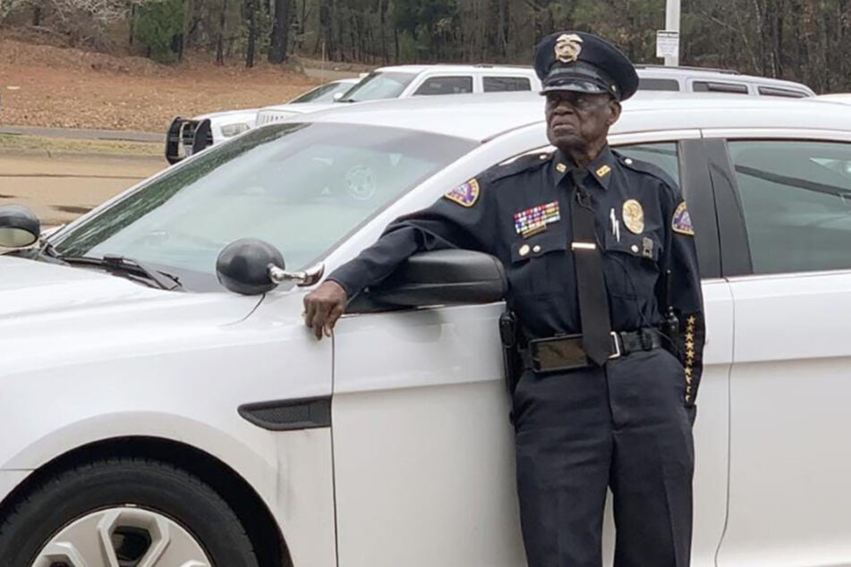 Resisting a rest: This cop is still walking his beat at 91!