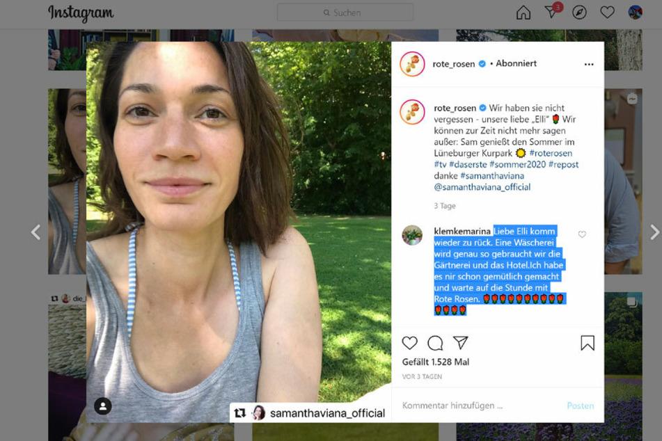 Eliane (Samanta Viana, 38) schaute sich jüngst in Lüneburg um... Kommt sie zurück?