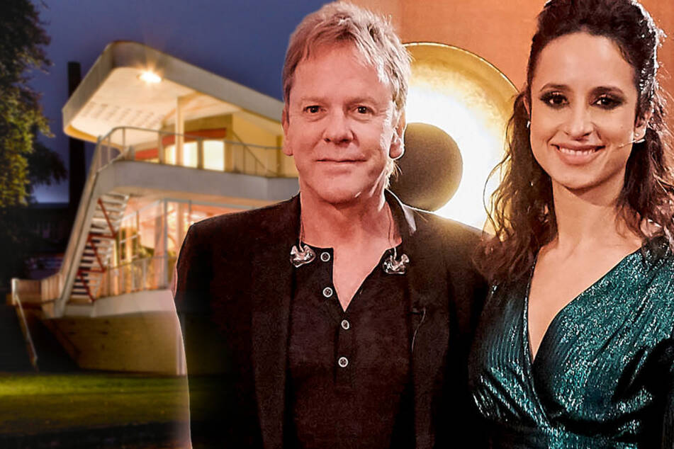 Hollywoods Glanz in Löbau: Was macht Stephanie Stumph mit Kiefer Sutherland?