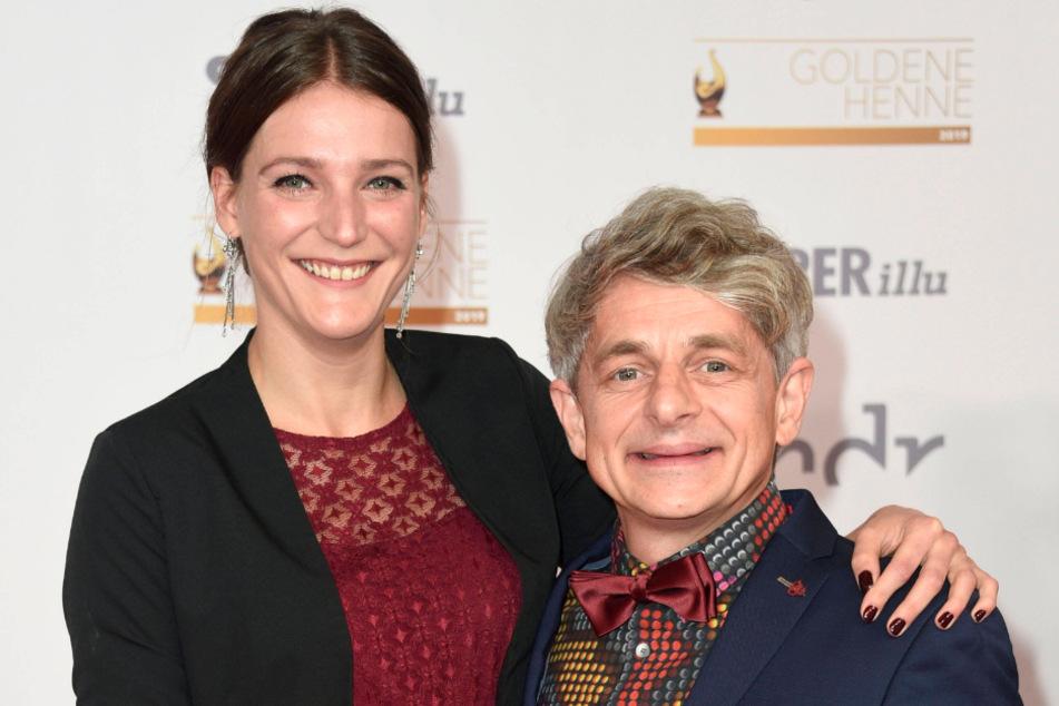 """Die Schauspieler Berit Möller (33) und Volker """"Zack"""" Michalowski (49) wurden im Sommer Eltern eines Sohnes."""