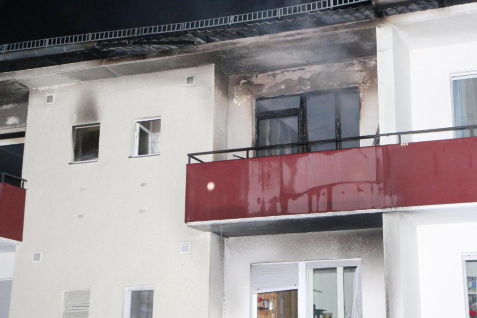 Wohnung in Lichtenrade in Flammen