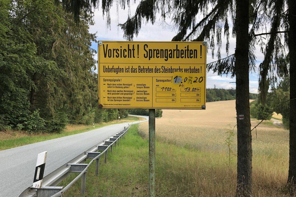 Am Dienstag ist es auf dem Gelände eines Steinbruchs in Weitisberga zu einem schweren Arbeitsunfall gekommen.