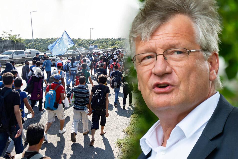 Grenzübertritt und Restaurant: AfD-Politiker Jörg Meuthen platzt beim Thema falsche Identität der Kragen