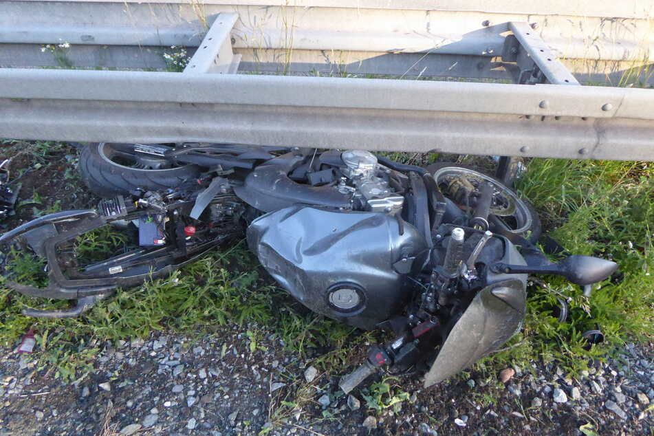 Unfall A72: A72 nach tödlichem Motorradunfall teilweise gesperrt