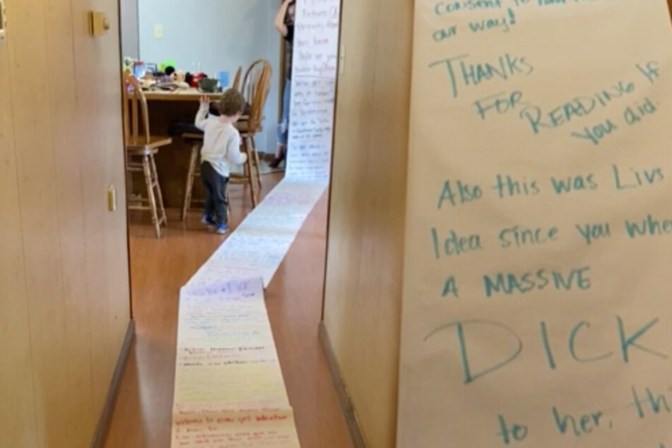 Woman receives mile-long angry letter about playground toy etiquette