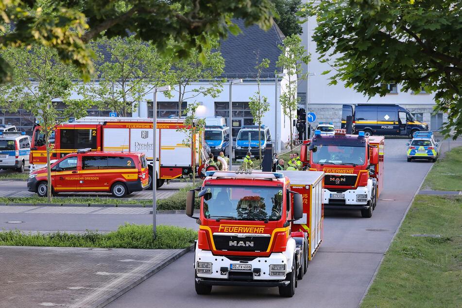 Auch die Feuerwehr war im Einsatz.
