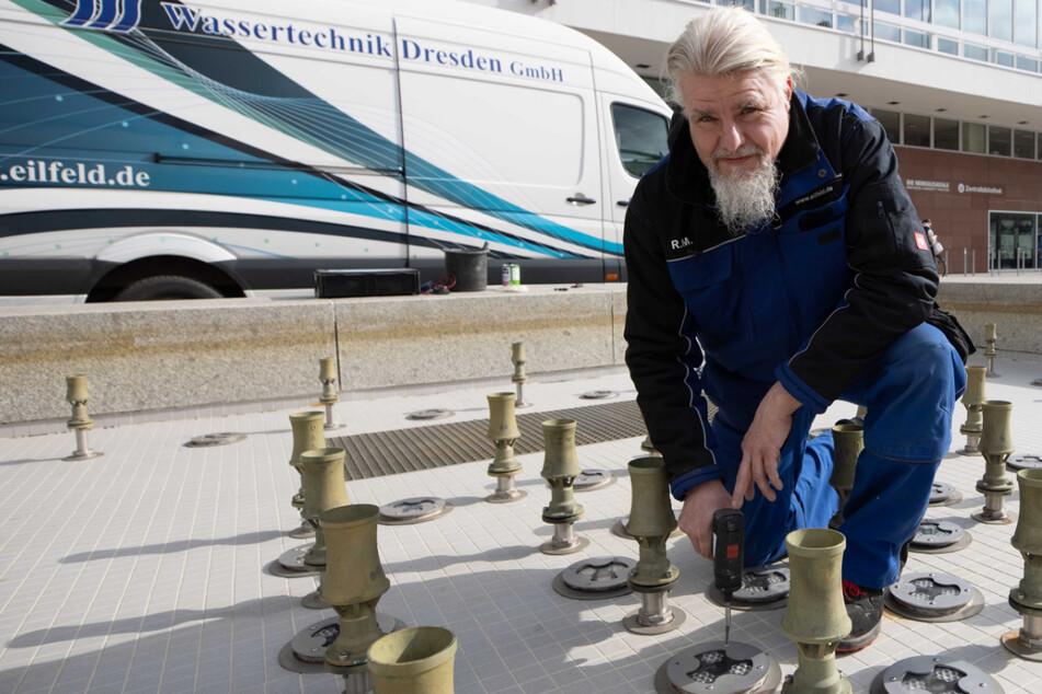 Wasser marsch! Ende April sollen Dresdens Brunnen wieder sprudeln