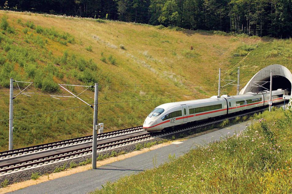 Geht's dank ICE-Tunnel bald mit Tempo 200 von Dresden nach Leipzig?