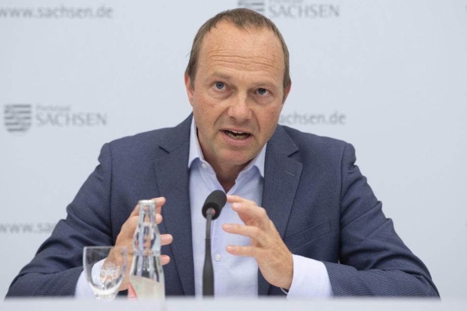 Umweltminister Wolfram Günther (47, Grüne).