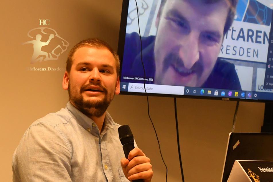 Premiere beim HC Elbflorenz: Erst für die Handballer, dann für Journalisten