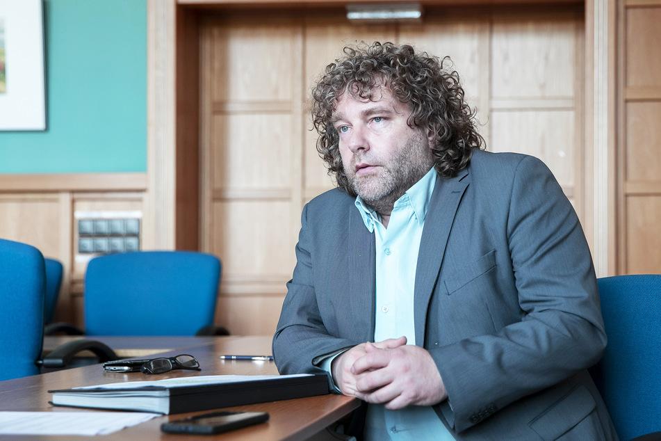 """""""Die Lausitz braucht eine gemeinsame Stimme"""", mahnt der Oberbürgermeister von Weißwasser Torsten Pötzsch (49)."""