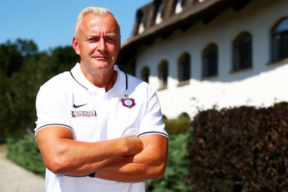 FCE-Geschäftsführer Michael Voigt freut sich schon auf die Einnahmen aus dem DFB-Pokal.