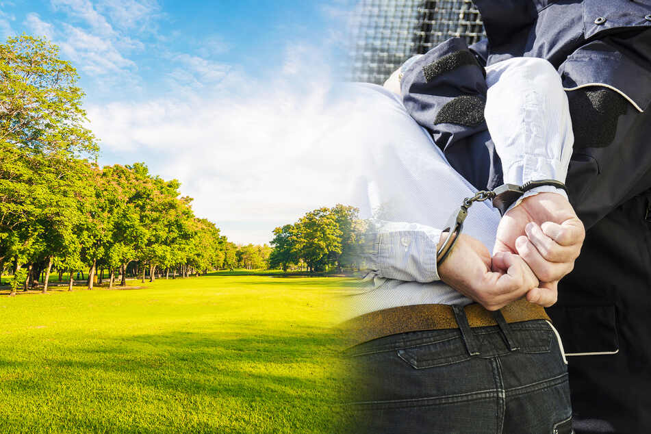 Vater spielt mit seinem Kind im Park: Dann wird er grundlos in Handschellen abgeführt