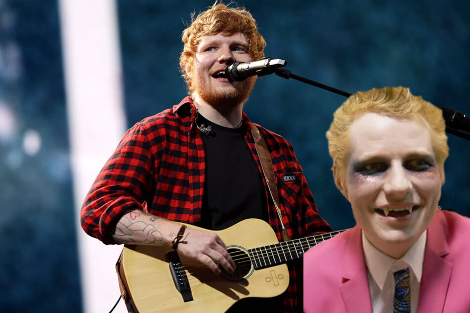 Ed Sheeran gives off major vampire vibes and a style shift in new Bad Habits music video