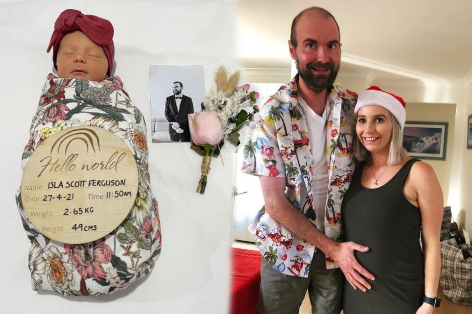 Werdender Vater stirbt kurz vor der Geburt seiner Tochter: Diese herzergreifende Nachricht hinterlässt er ihr