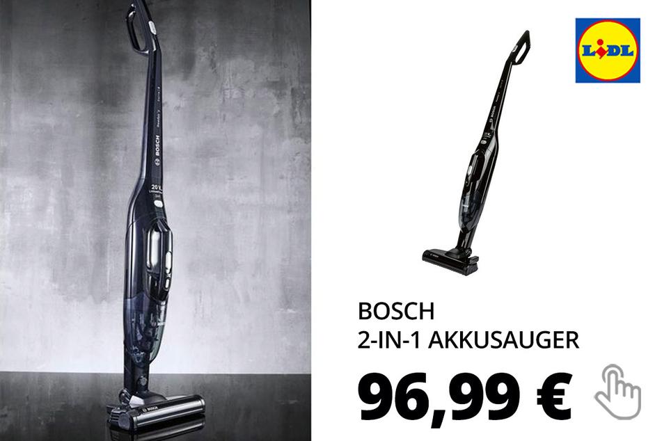 """BOSCH 2-in-1 Akku- und Handstaubsauger """"Readyy'y BBHL22BLCK"""""""
