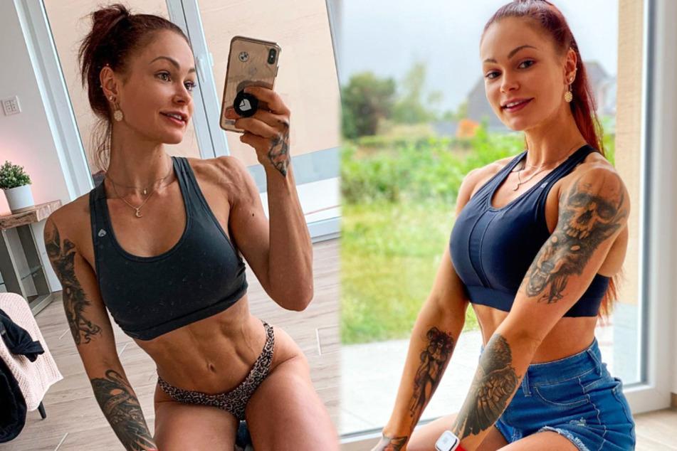 Fitness-Influencerin LeaLovesLifting (22) präsentiert sich und ihren Körper oft und gern auf Instagram.