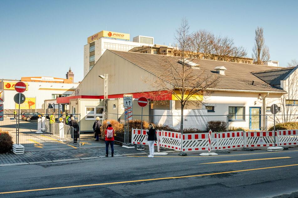 Bald Geschichte: Das Impfzentrum im ehemaligen Netto-Markt auf der Wilhelm-Raabe-Straße.