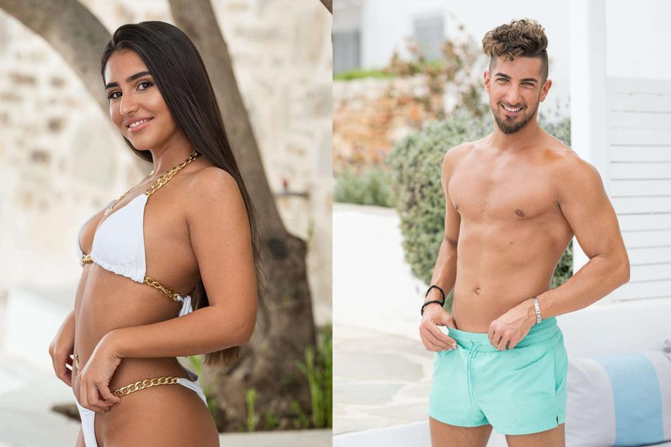 """Die einstigen """"Love Island""""-Kandidaten Aurelia Lamprecht (24) und Francesco Gargiullo (27)."""