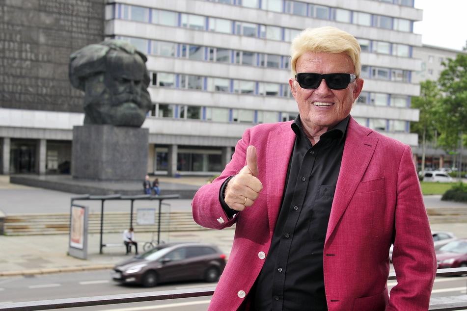 Chemnitz: Heino spendiert Freikarten für sein Konzert in Chemnitz