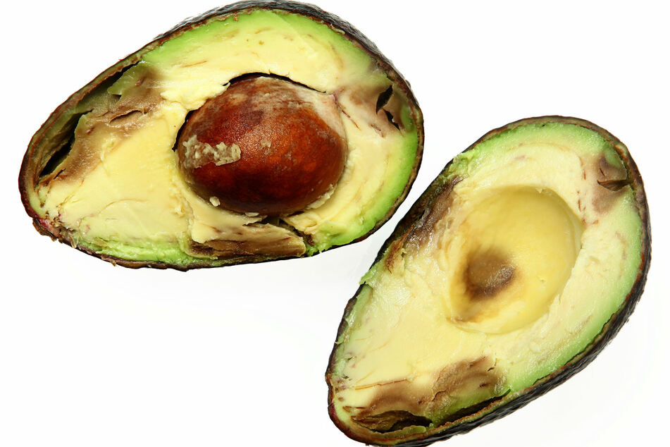 Brown spots are normal and harmless in ripe avocados.