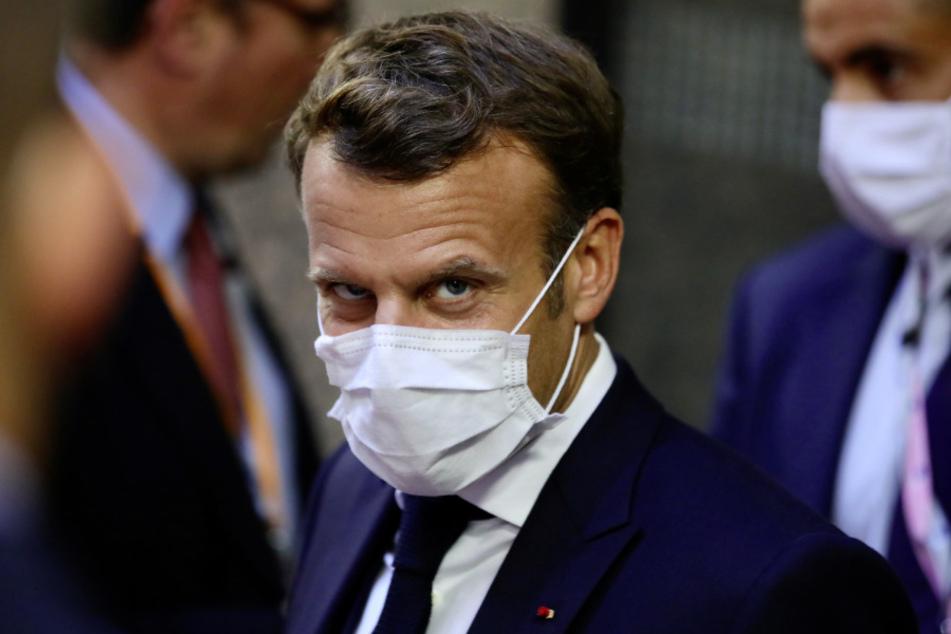 Frankreichs Präsident Emmanuel Macron (42).