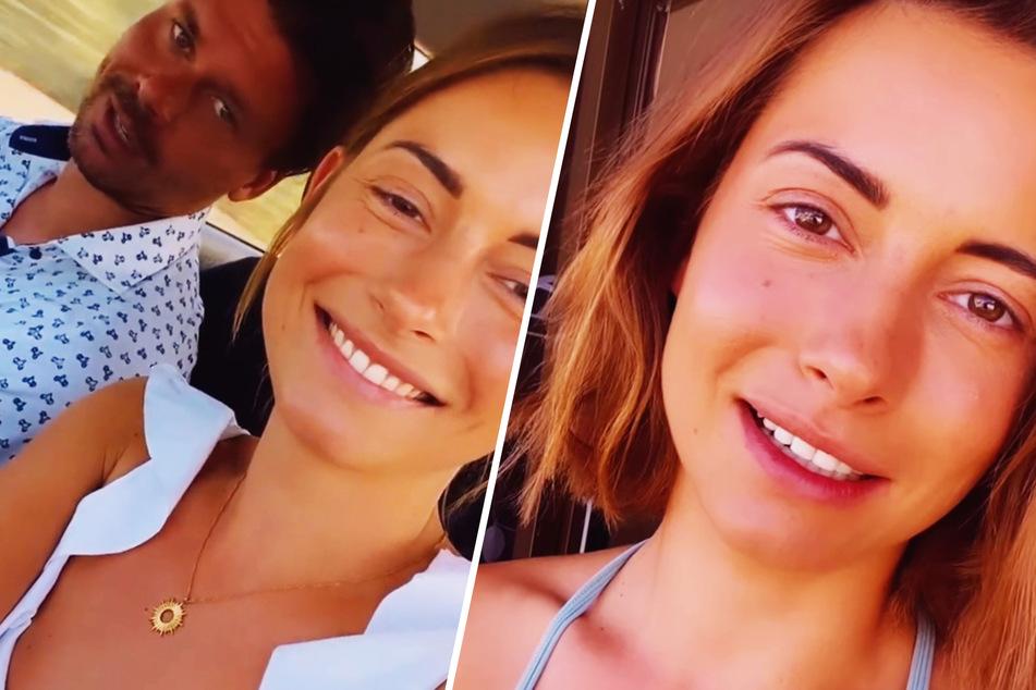 Kam auf einen Kaffee mit hoch: So lernten sich Jenny Lange und Freund Darius kennen