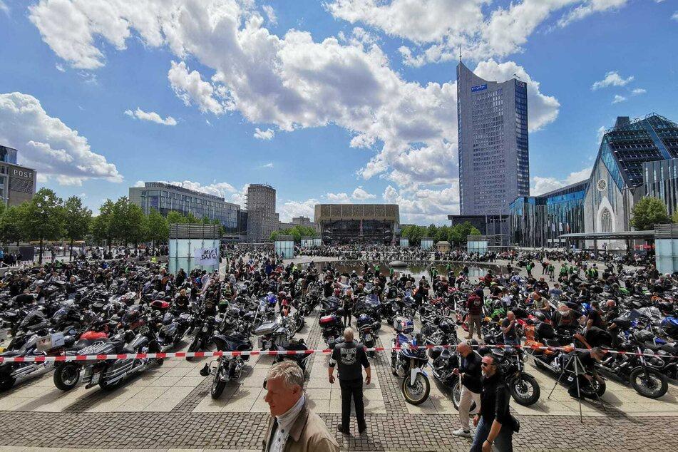 Leipzig: 10.000 Biker angemeldet: Motorrad-Demo sorgt für Verkehrs-Einschränkungen in und um Leipzig