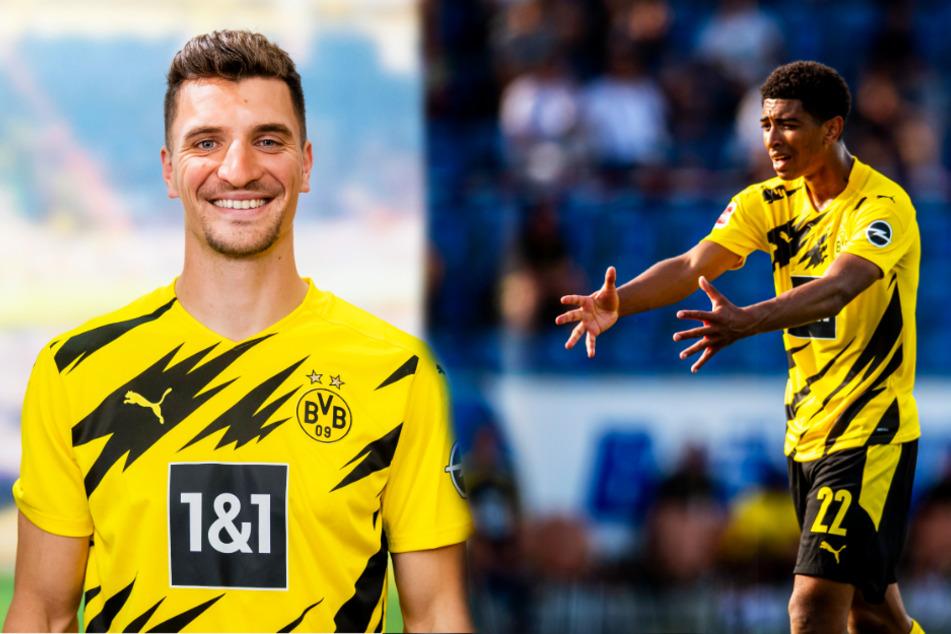 Mit Thomas Meunier (l.) und Jude Bellingham sind dem BVB zwei Transfer-Coups gelungen.