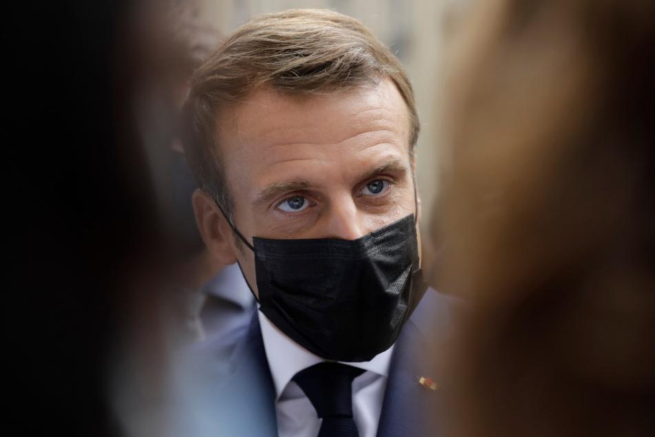 Der Staatspräsident von Frankreich, Emmanuel Macron (42), hat derzeit mit hohen Corona-Zahlen zu kämpfen.