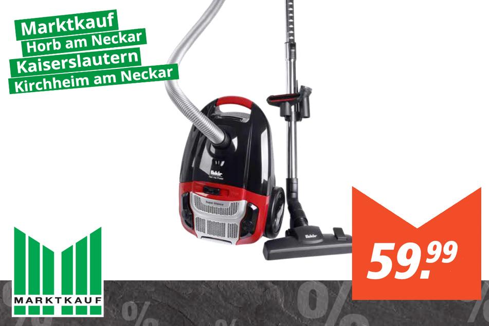 Fakir Staubsauger Red Vac Power für 59,99 Euro