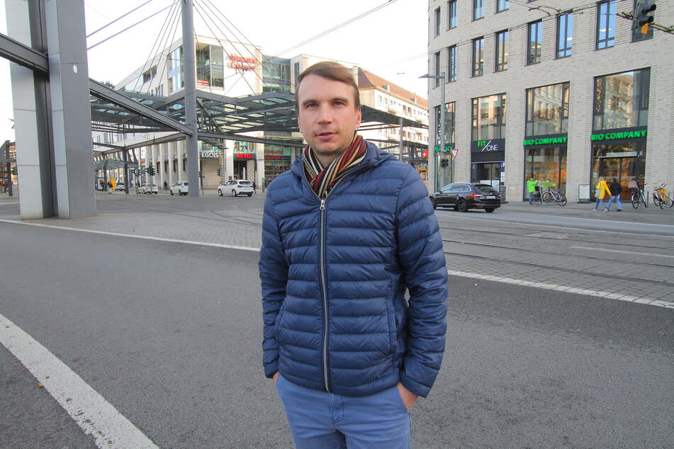 """""""Es lohnt sich, nochmals genau hinzuschauen"""", sagt Stadtbezirksbeirat Marko Beger (38, FDP)."""